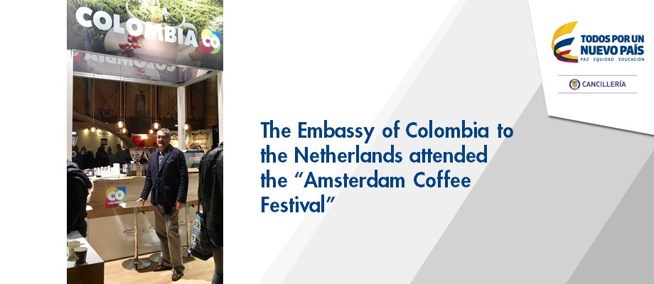 The Embassy of Colombia to the Netherlands attended the